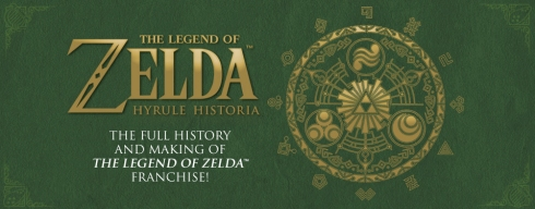 hyrule historia book english